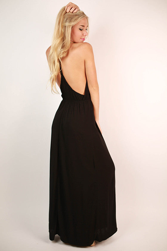 Pacific Coast Maxi Dress in Black