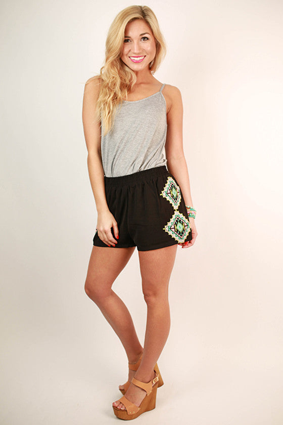 Splendid Day Shorts in Black