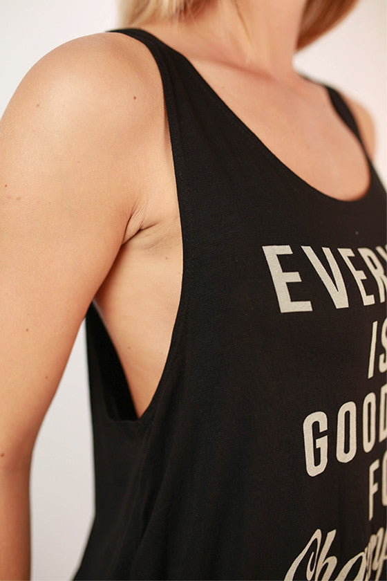 Everyday Is A Good Day For Champagne Graphic Tank