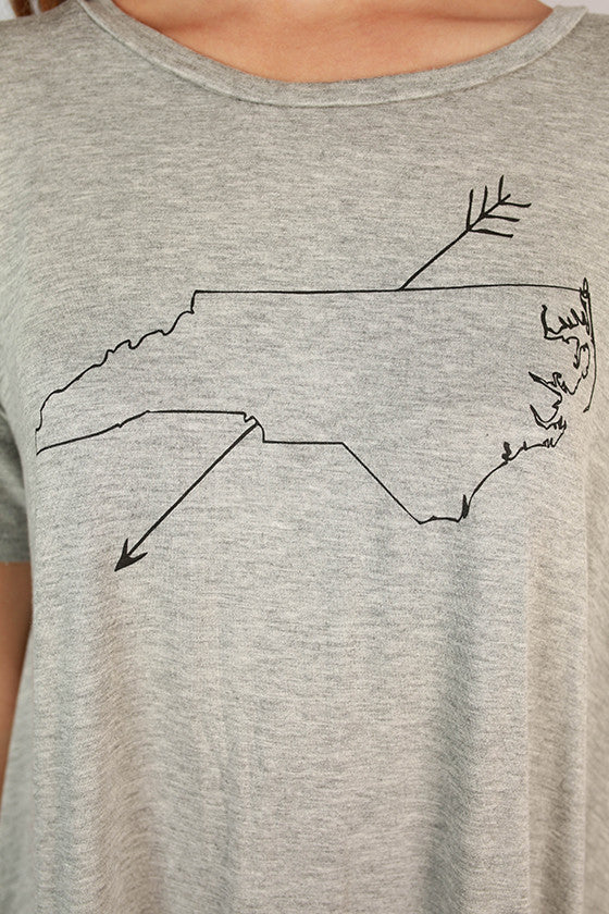 North Carolina Swing Tee