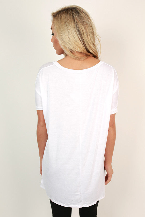 Top Me Off V-Neck Tee