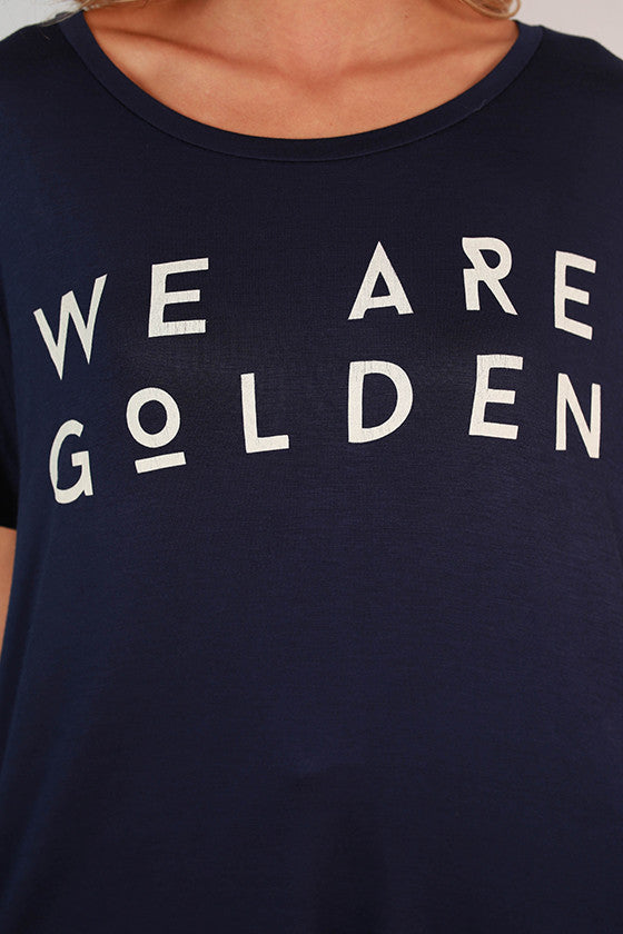 We Are Golden Swing Tee