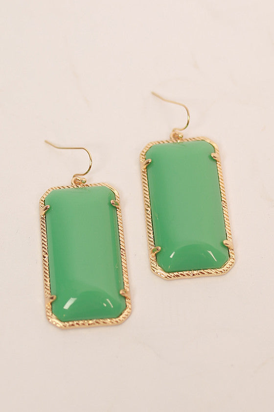 Always a Doll Earrings in Ocean Wave