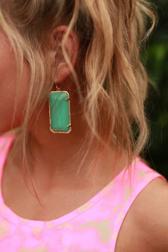 Always a Doll Earrings in Turquoise