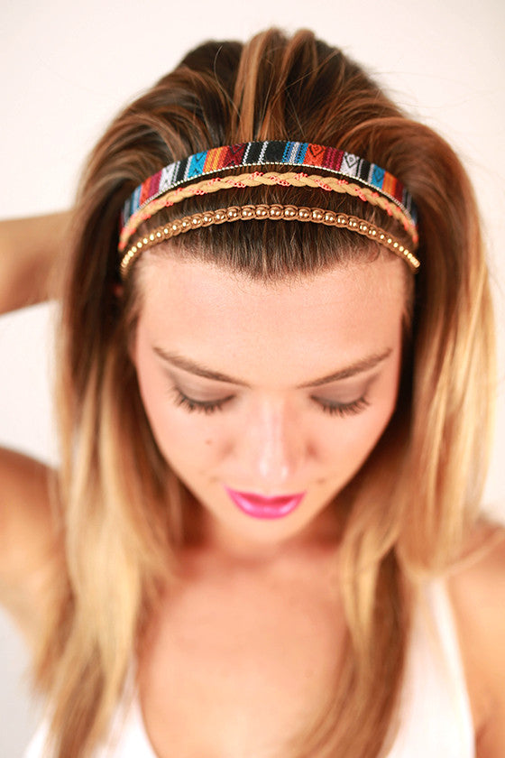 Tribal Layer Headband
