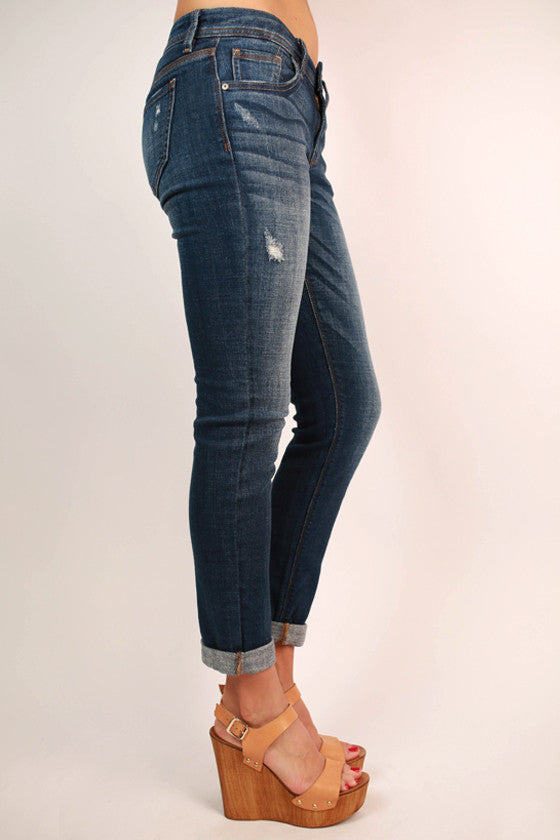 Ultimately Unstoppable Comfort Skinny in Medium Blue