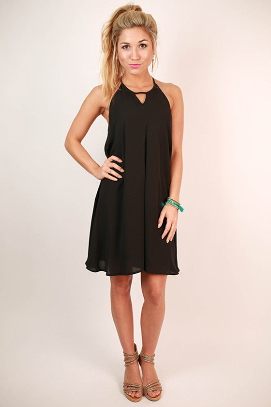 Sweet Treat Dress in Black