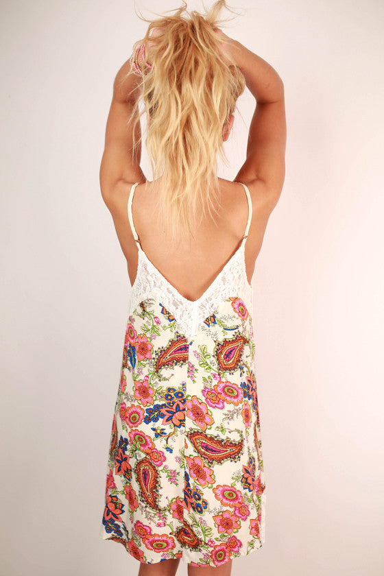 Life of The Party Floral Dress