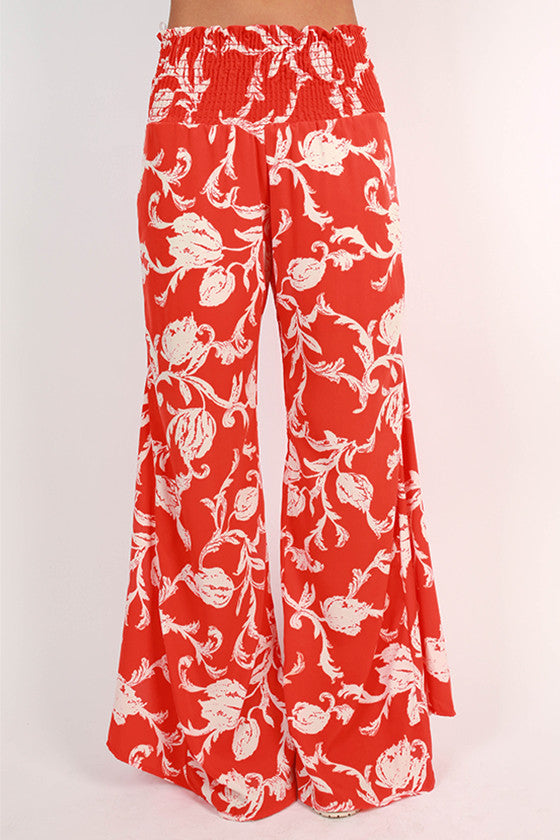 Derby Darling Pants in Tangerine