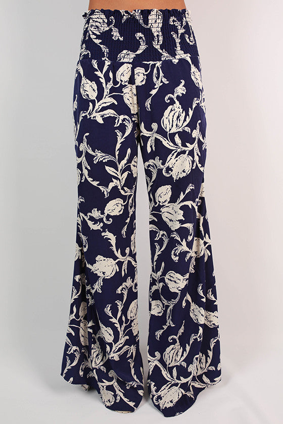 Derby Darling Pants in Navy