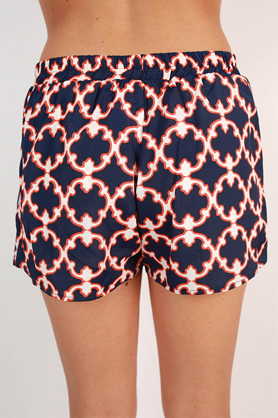Go To Girl Shorts in Navy