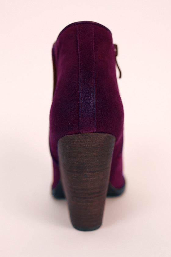 Whitby Bootie in Windsor Wine