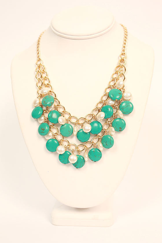 Beauty in Turks Layered Necklace