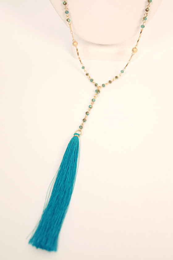 Meet Me in Maldives Tassel Necklace