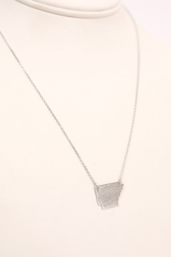 Dainty Arkansas Necklace