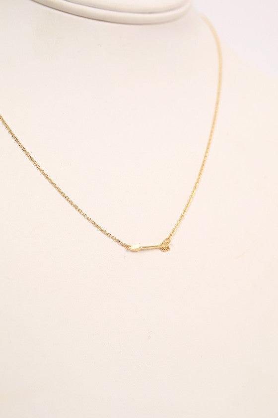 Dainty Arrow Necklace