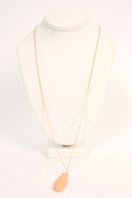 Top Me Off Timeless Necklace in Nude