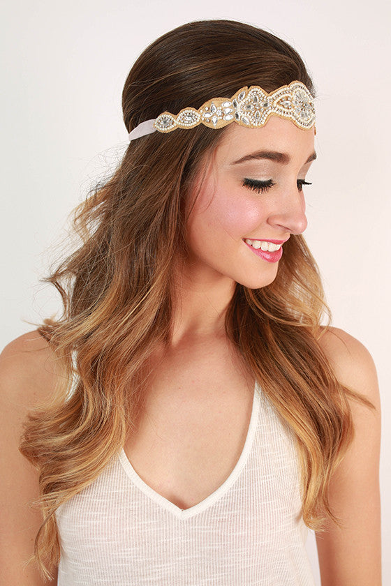 Glory Days Crystal Headband