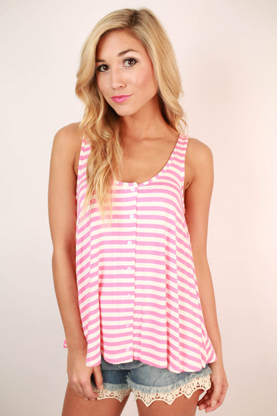 Aruba Swing Tank in Pink Lemonade
