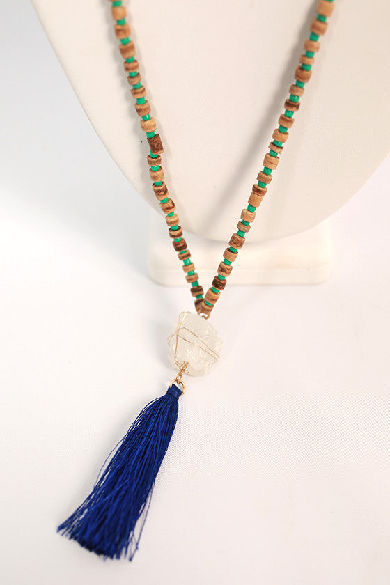 Lovely Lollipop Tassel Necklace