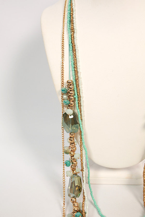 Luxe Jewels Layered Necklace