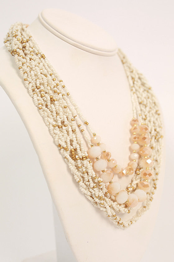 Seaside Serenity Necklace in White