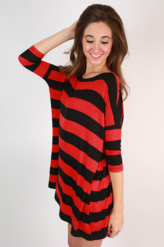 Southern Stripes Top in Black