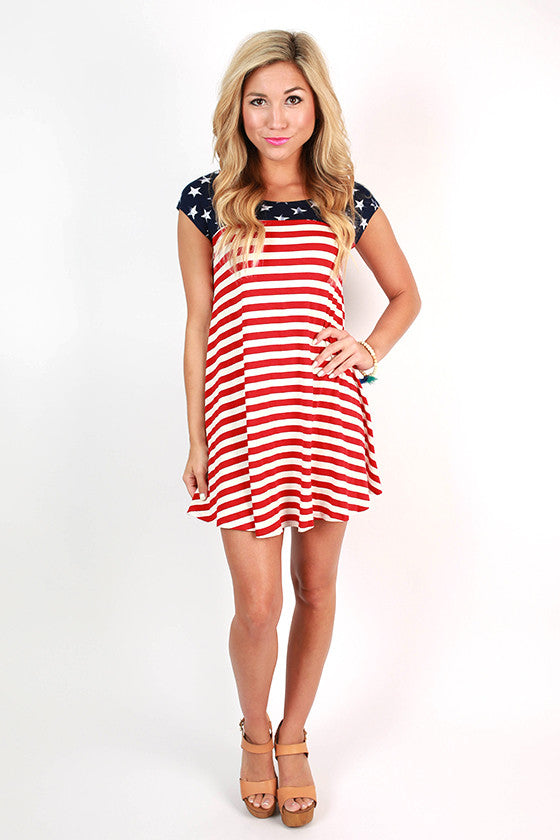 Freedom Babydoll Dress