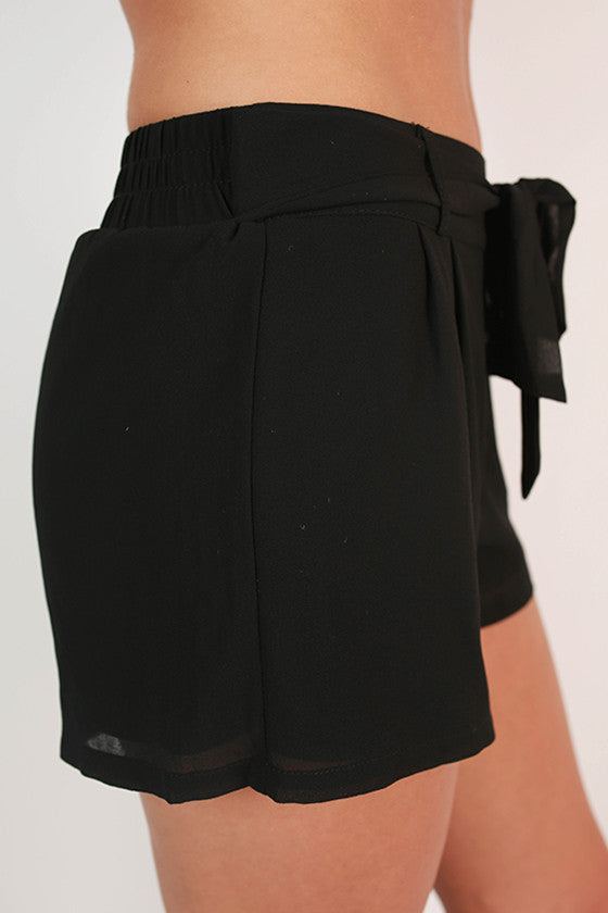 Breezy Keen Shorts in Black