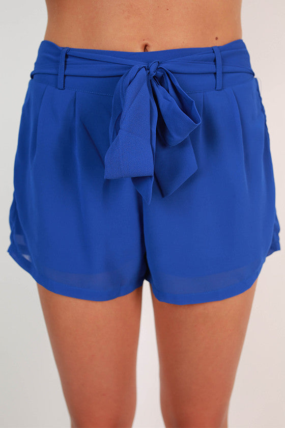 Breezy Keen Shorts in Royal Blue