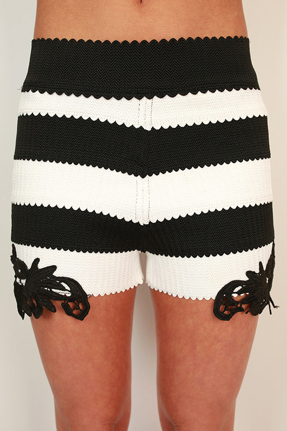 Playtime Pretty Stripe Shorts