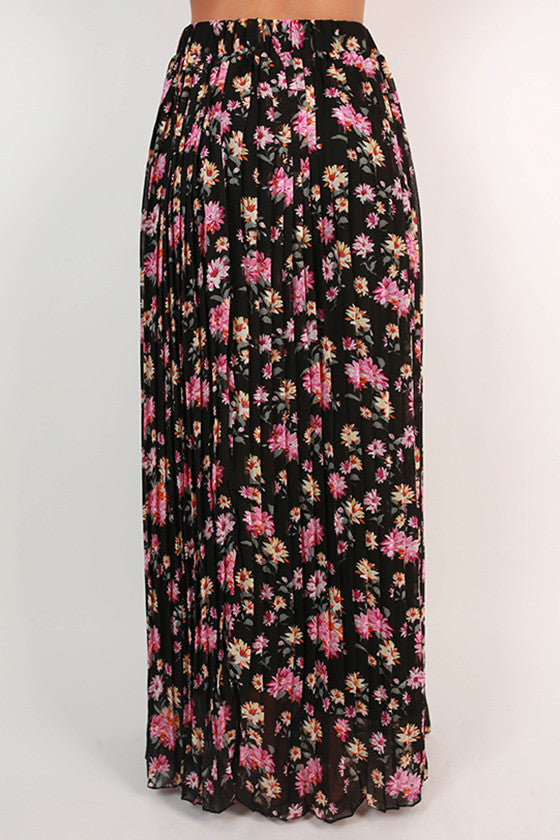 Floral Fate Maxi Skirt