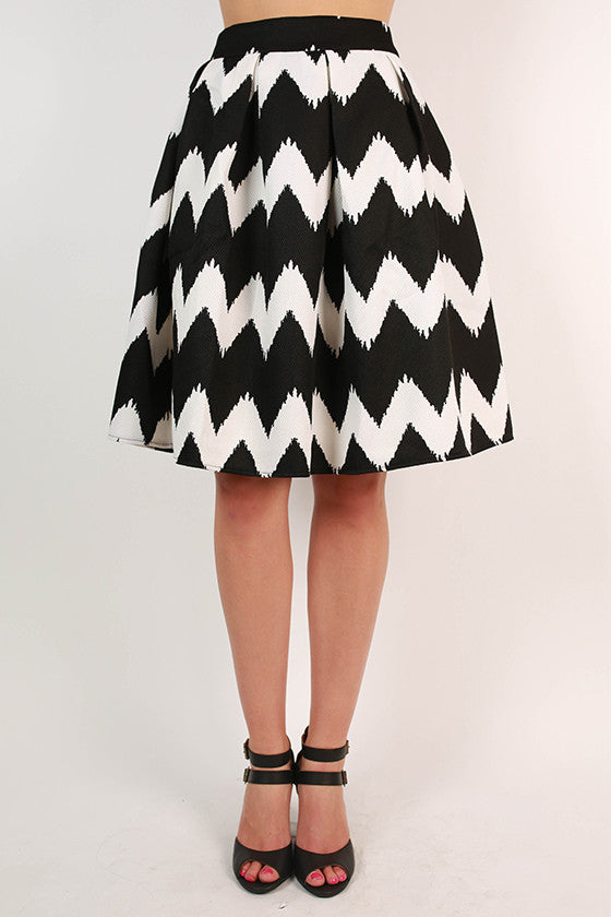 Striped Serendipity Skirt