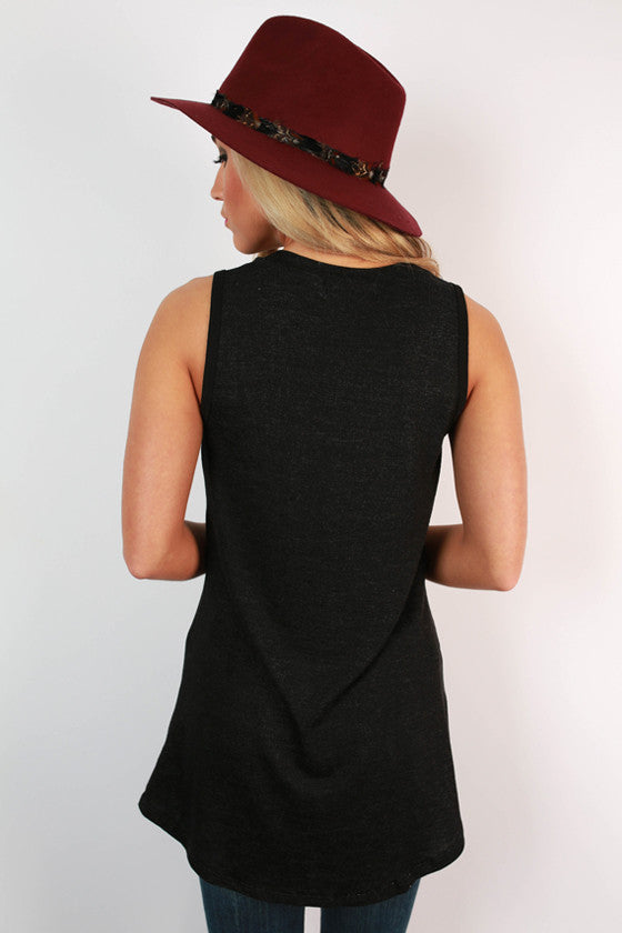 The Jack Boyfriend Tank in Black
