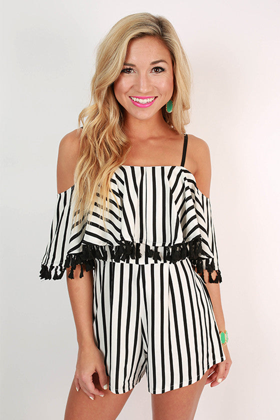Popsicles Poolside Stripe Romper