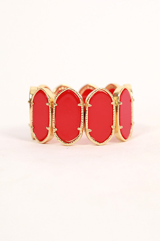 Instant Beauty Bracelet in Red