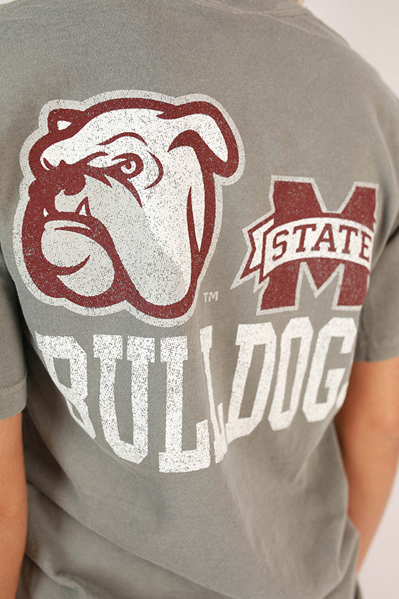 Mississippi State Unisex Comfort Color Pocket Tee