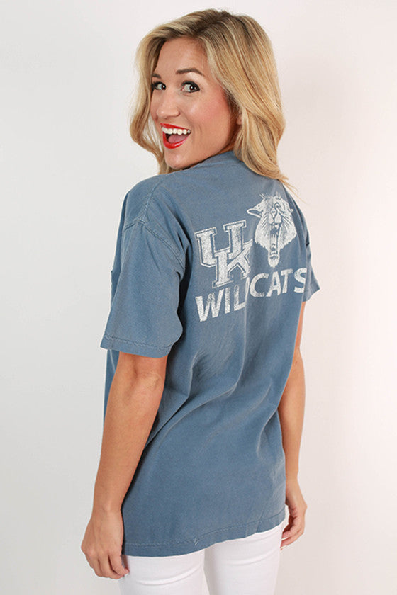 University of Kentucky Unisex Comfort Color Pocket Tee