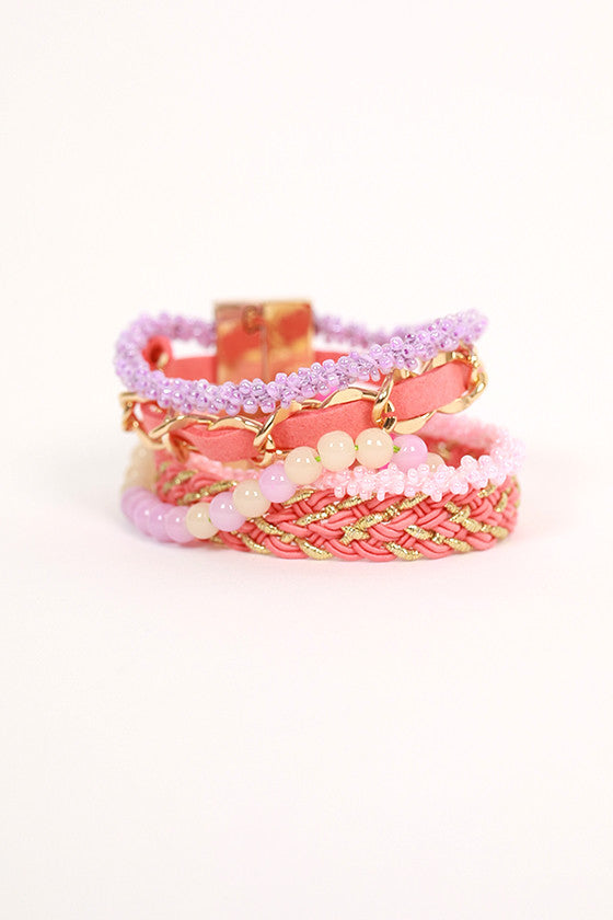 Girl's Getaway Braided Multi Bracelet