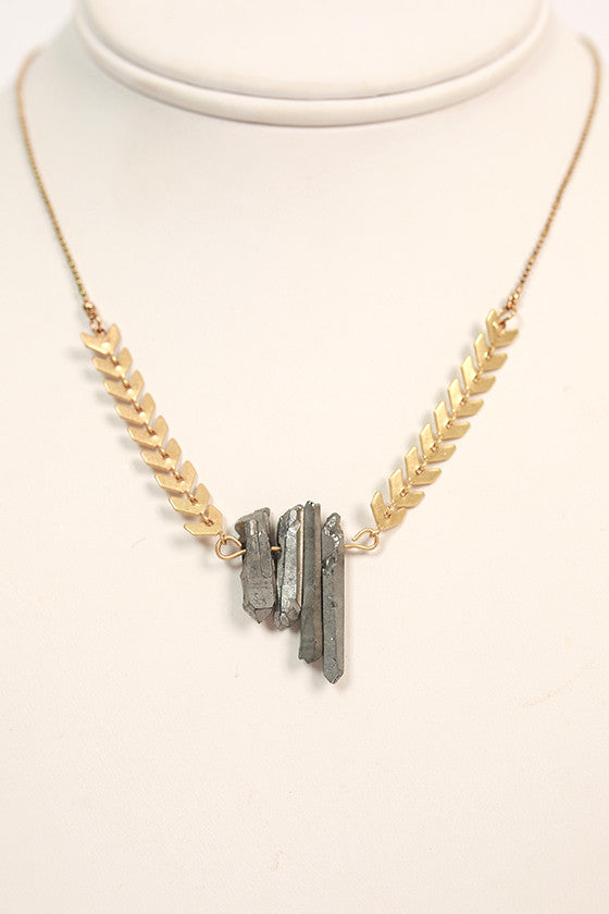 Soho Shimmers Stone Necklace