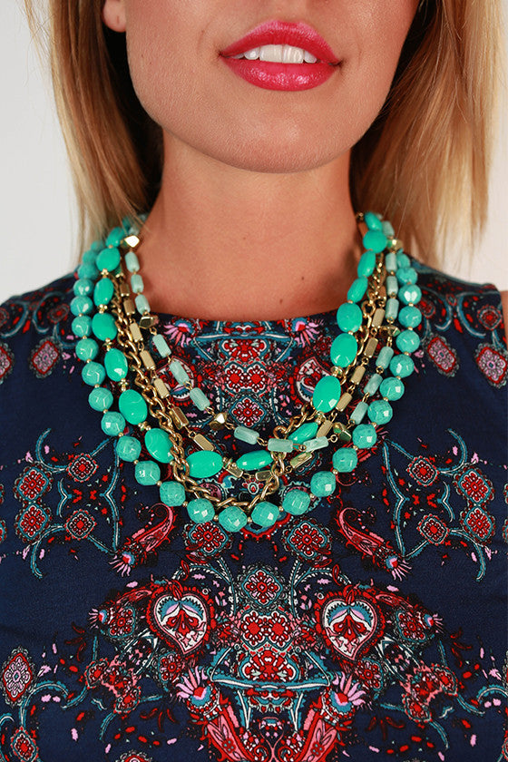 Southern Sunsets Layered Necklace