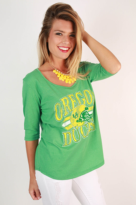 University of Oregon Boyfriend Tee