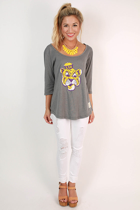 Louisiana State University Boyfriend Tee