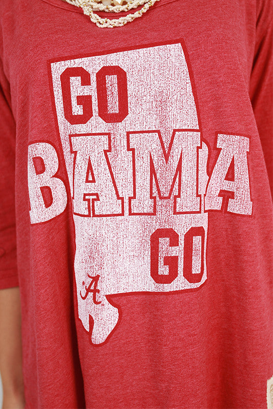 University of Alabama Boyfriend Tee
