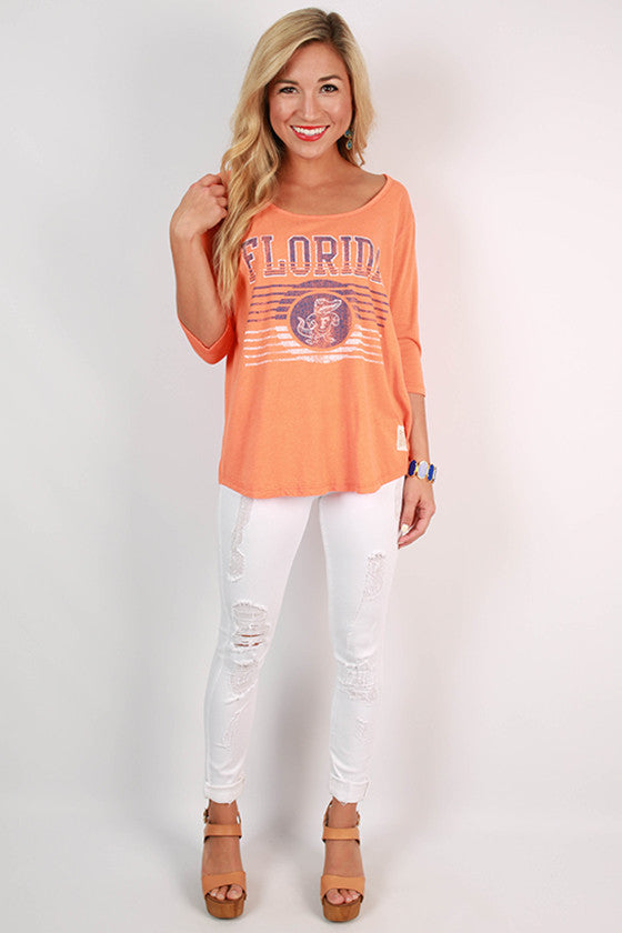 University of Florida Boyfriend Tee