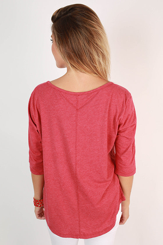 University of Oklahoma Boyfriend Tee