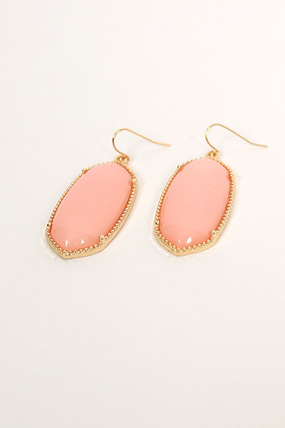 Baby You're Classic Dangle Earrings in Nude