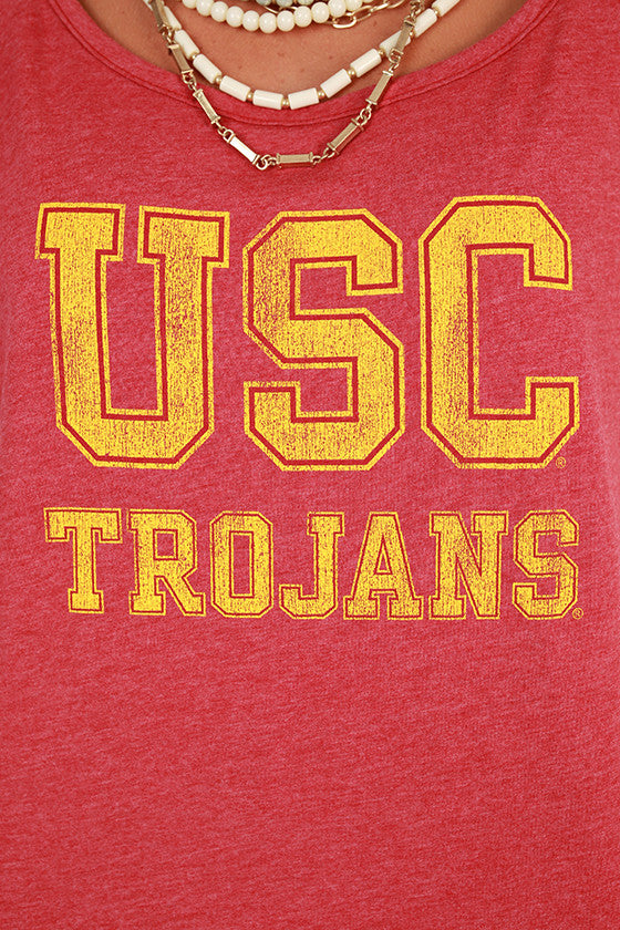 University of Southern California Boyfriend Tee