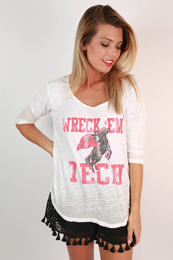 Texas Tech University Boyfriend Tee