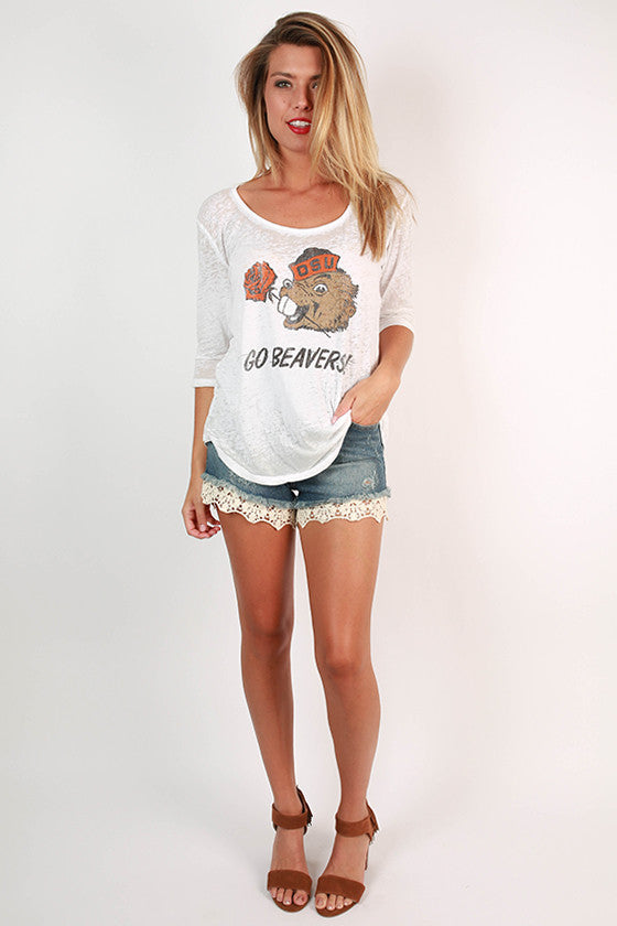 Oregon State University Boyfriend Tee